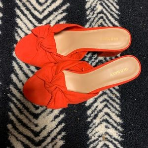 Old Navy Red 9 Dress Shoes